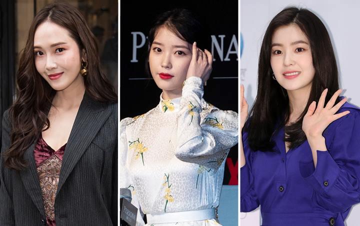 Tampil Cantik Dan Elegan, IU, Irene Dan Jessica Memakai Dress Yang Sama
